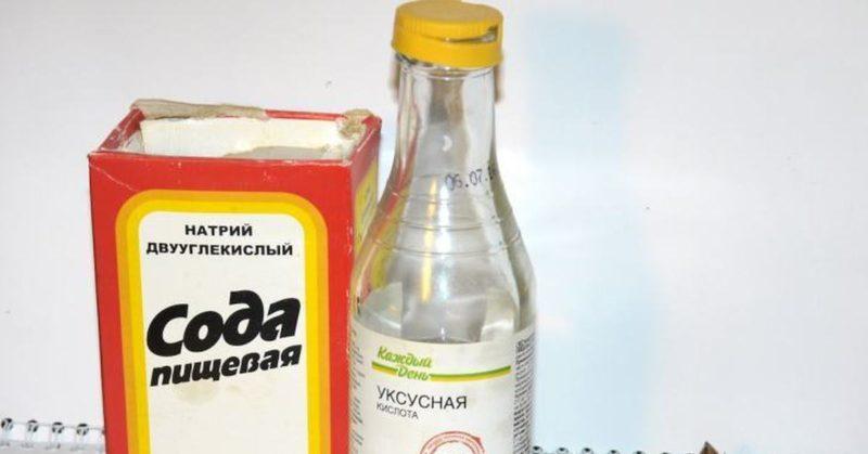 Как сделать шипучку из соды и уксуса в домашних условиях