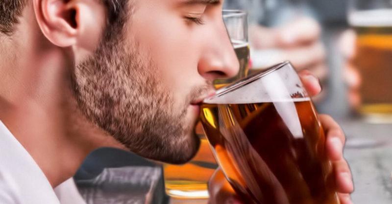 Употребление пива в разумных количествах