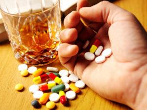 Взаимодействие антибиотика с алкоголем
