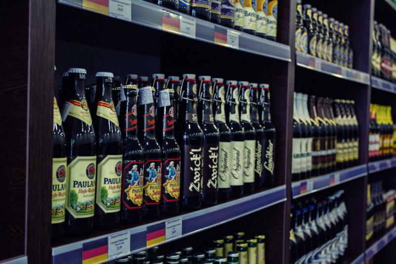 Запрет распространяется и на продажу пива