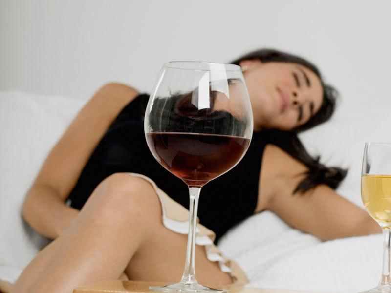 Бесконтрольное употребление алкоголя