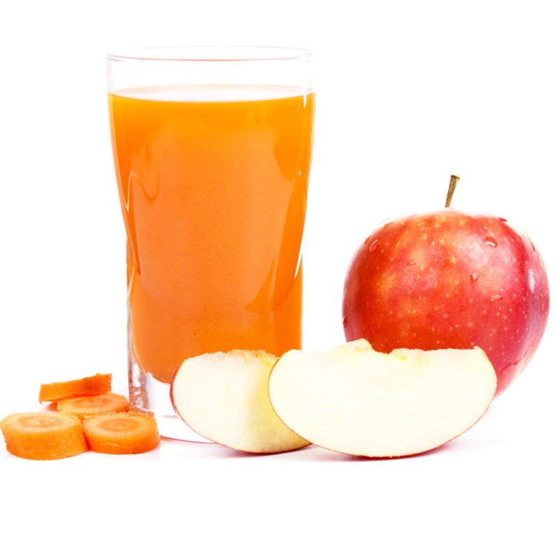 Яблочно-морковный сок