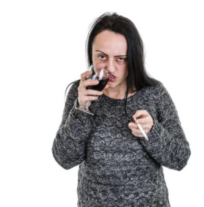 Признаки алкоголизма у женщин на лице по фото