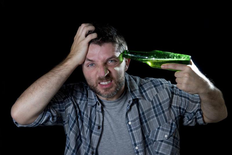 Интоксикация головного мозга в связи с употреблением алкоголя