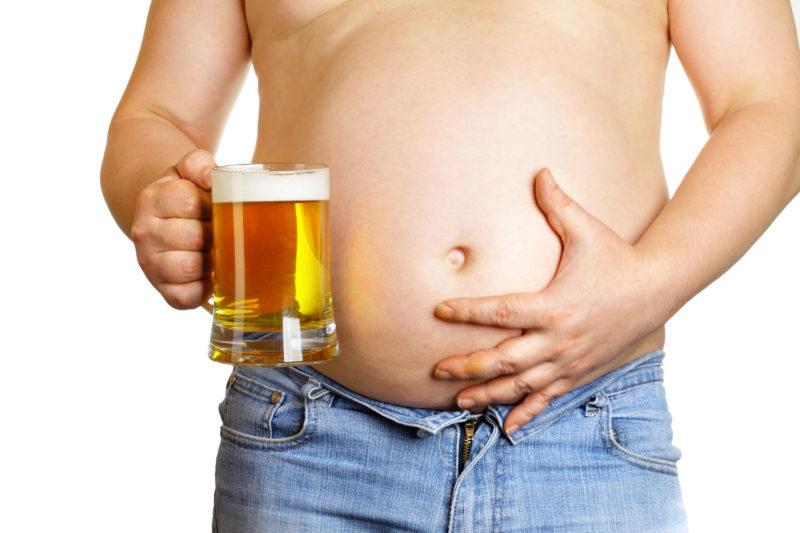 Пивной алкоголизм ведет к гормональному бисбалансу