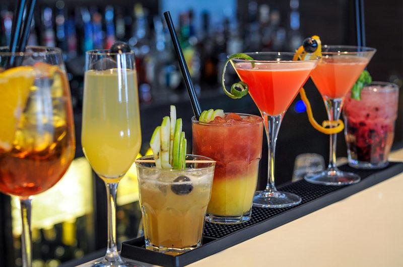 Слабоалкогольные коктейли