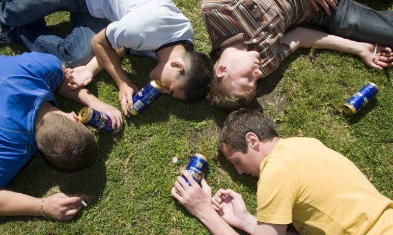 Пьяная компания