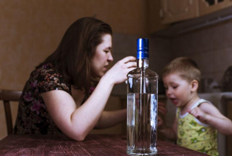 Пьющая мать
