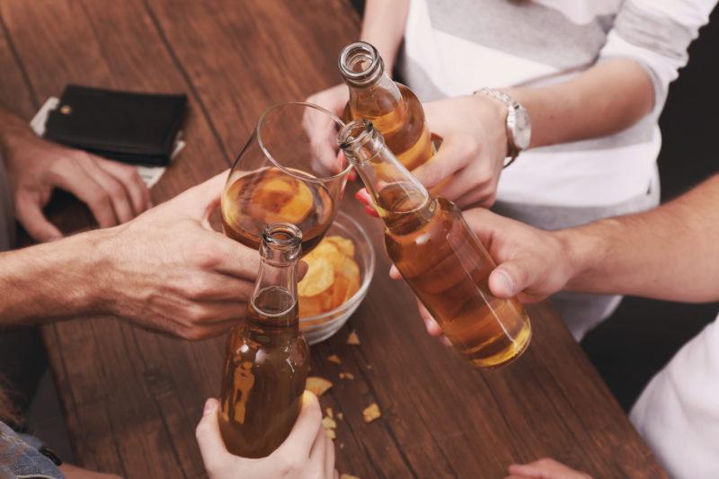 Традиция употреблять алкоголь