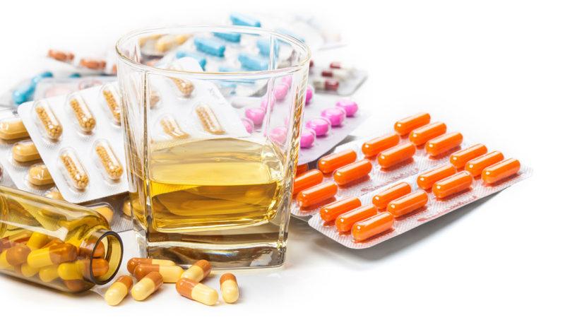 Противопоказано с антибиотиками