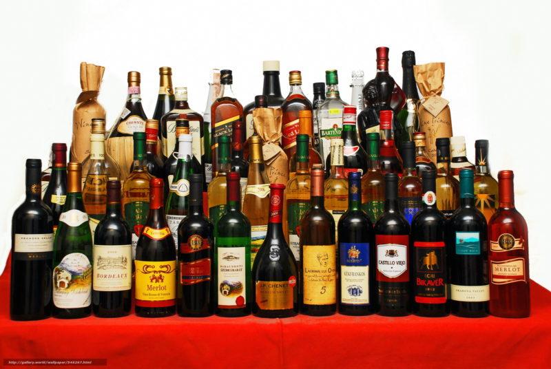 Калорийность спиртных напитков таблица и содержание сахара
