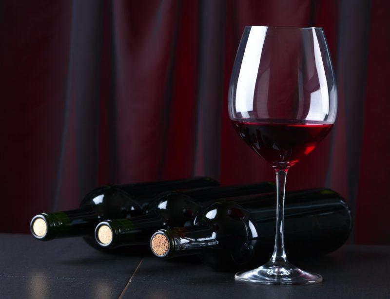 Бокал вина для здоровья